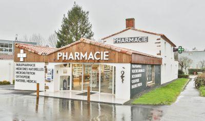 Façade de pharmacie