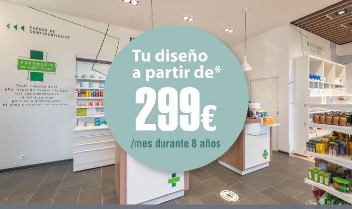 ¡El diseño de tu Farmacia desde 299€/mes*!