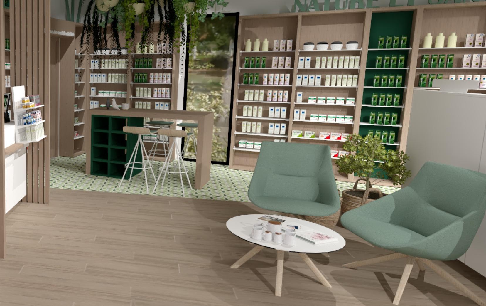Votre maison s'invite en pharmacie !