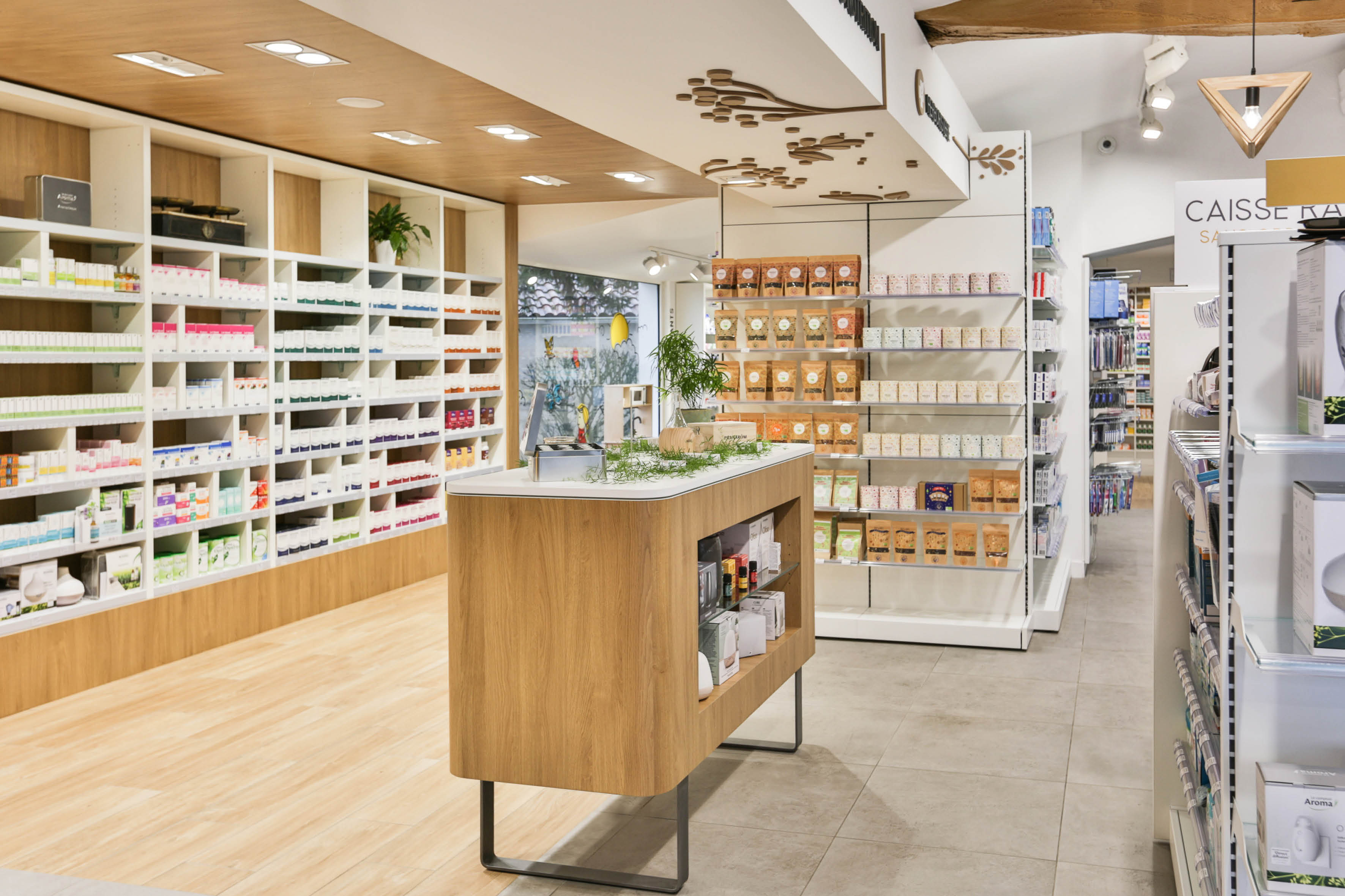 Agencement pharmacie - plus de 50 ans d'expertise Mobil M