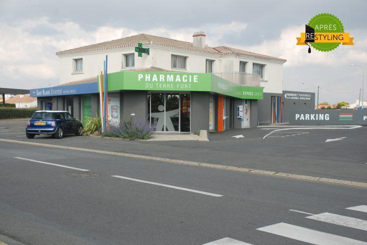 Fachada de farmacia