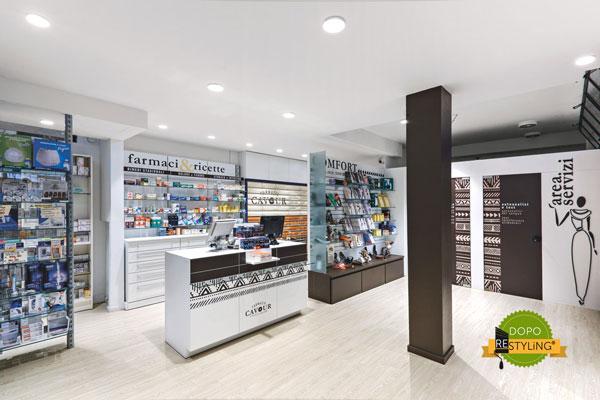 Covering de pharmacie