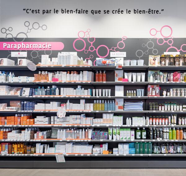 Merchandising de pharmacie