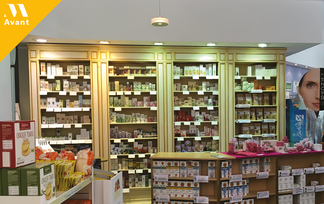 Relooking pharmacie | Mobil M