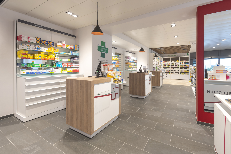 Agencement pharmacie Genève