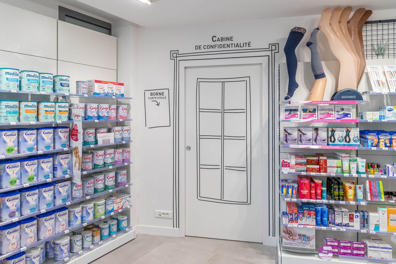 Agencement de pharmacie Canclaux Nantes Loire Atlantique