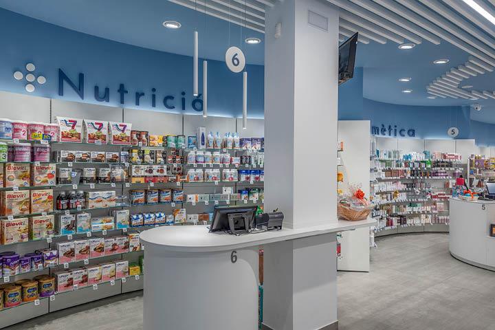 Agencement de Pharmacie Pilar Font Mobil M