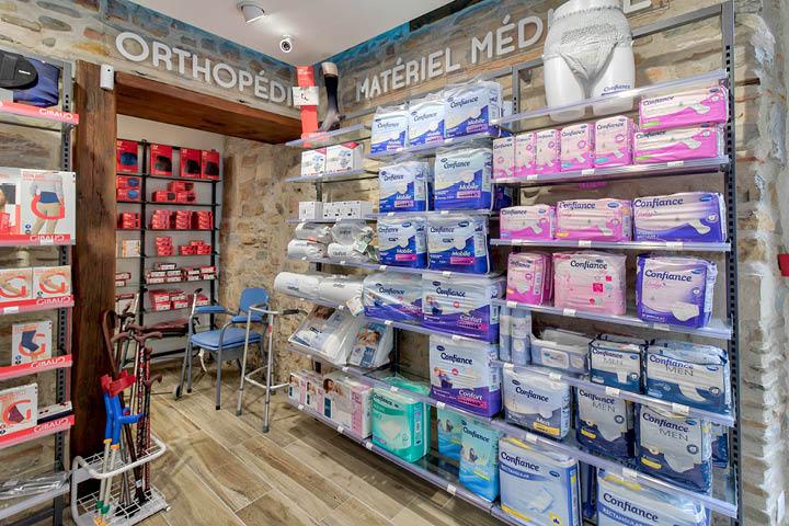 Espace Orthopédie pharmacie Agencement de Pharmacie Hagolle Navarrenx  Mobil M