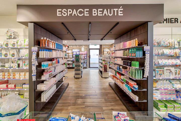 Espace Beauté pharmacie Agencement de Pharmacie Hagolle Navarrenx  Mobil M