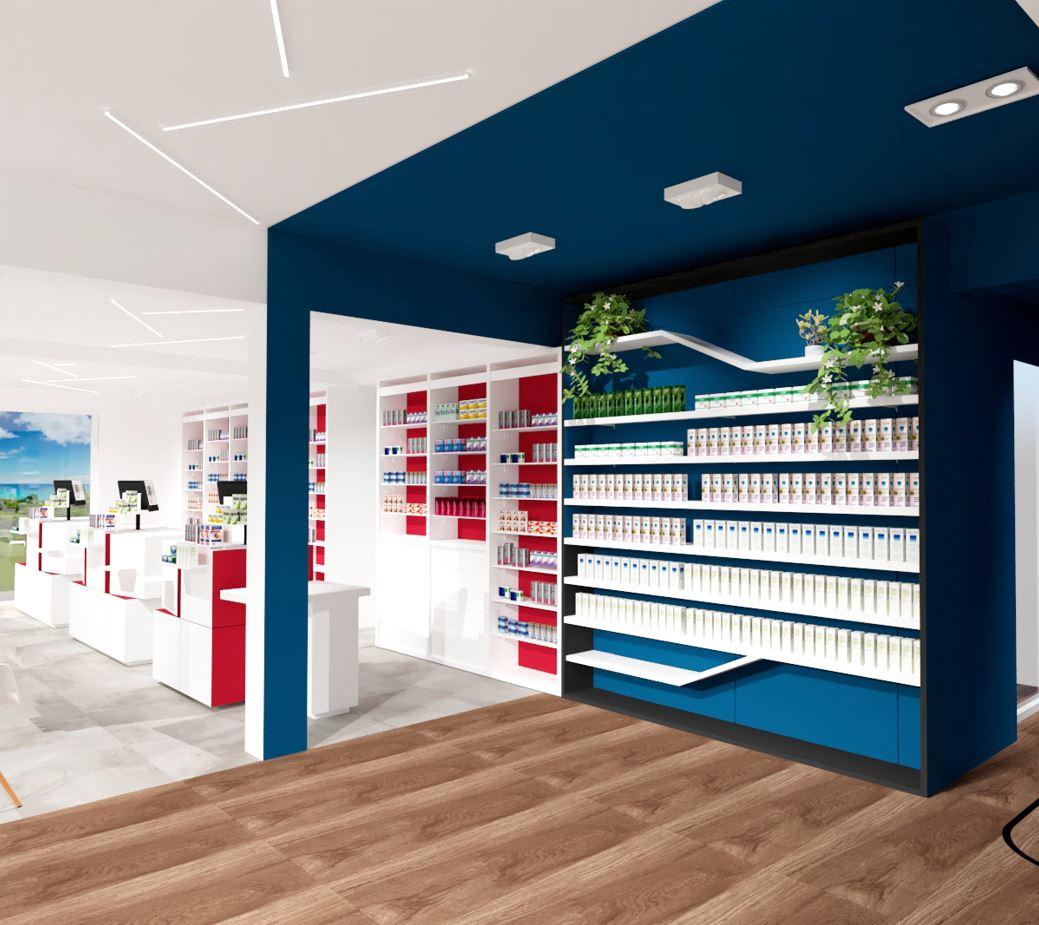 Une sectorisation des espaces par le design mobilier et graphique