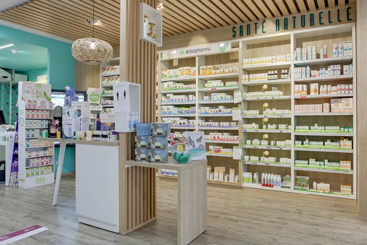 MOBIL M Champagne agencement de pharmacie à Reims