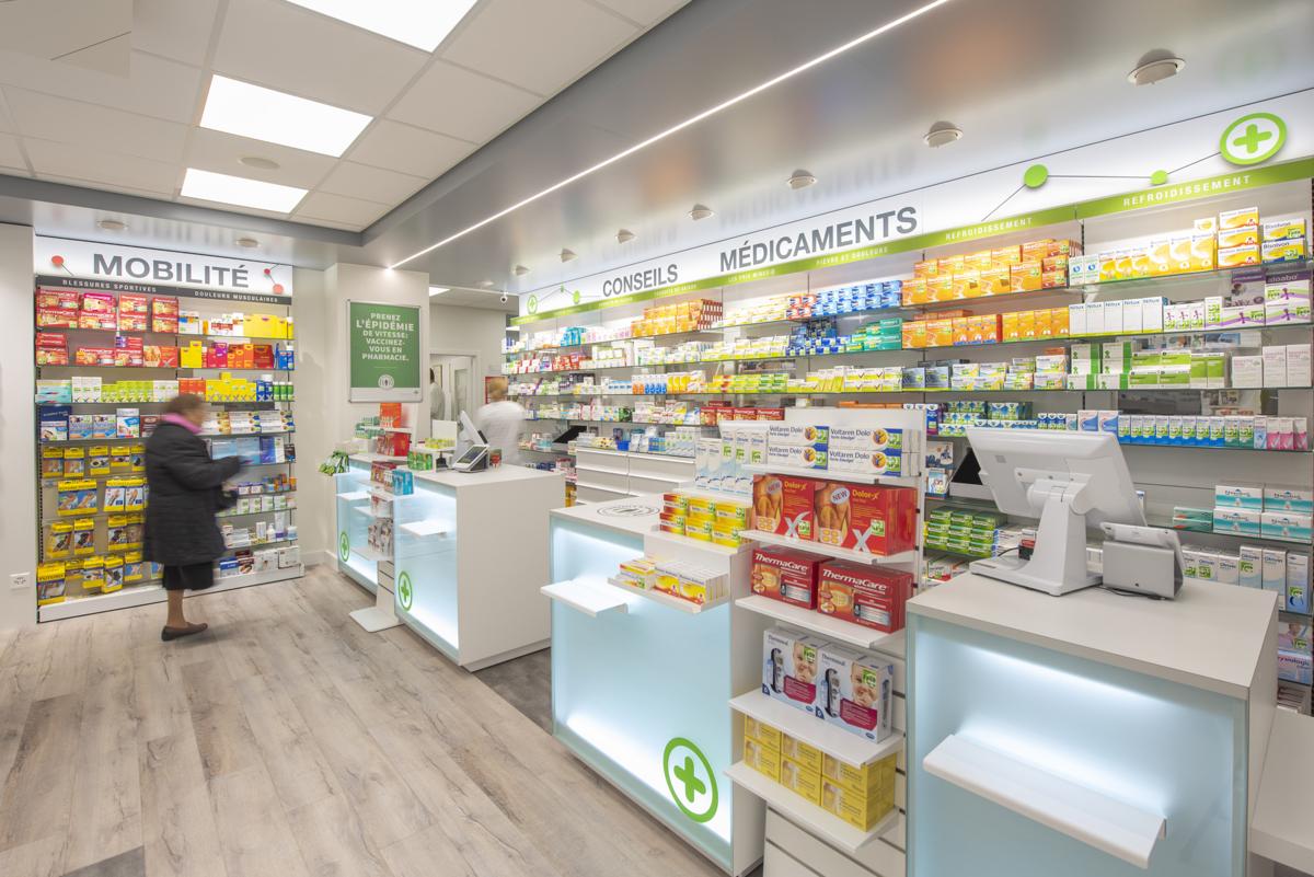 Mobil M Suisse - Agencement de pharmacie à Genève