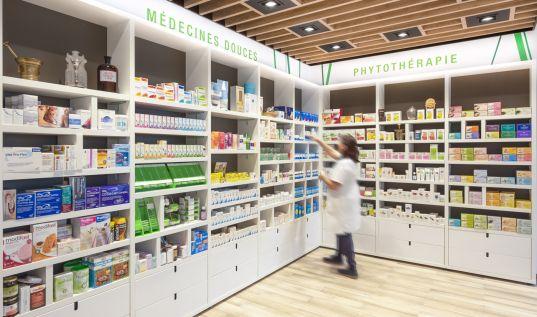 Linéaire pharmacie