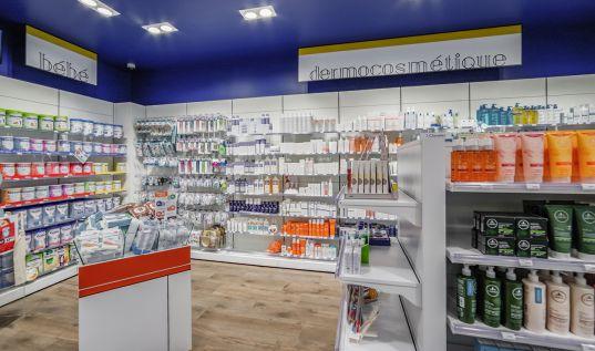 Agrandissement pharmacie