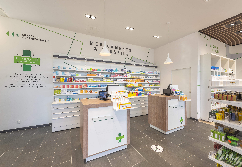 Pharmacies du Levant et du Levant - La Pâla