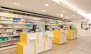 espace comptoirs pharmacie des six vallées